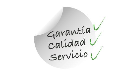 Garantía calidad servicios