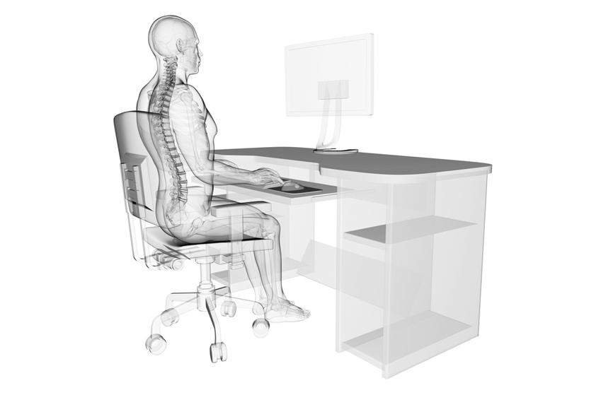 Postura recomendada sillas ergonómicas